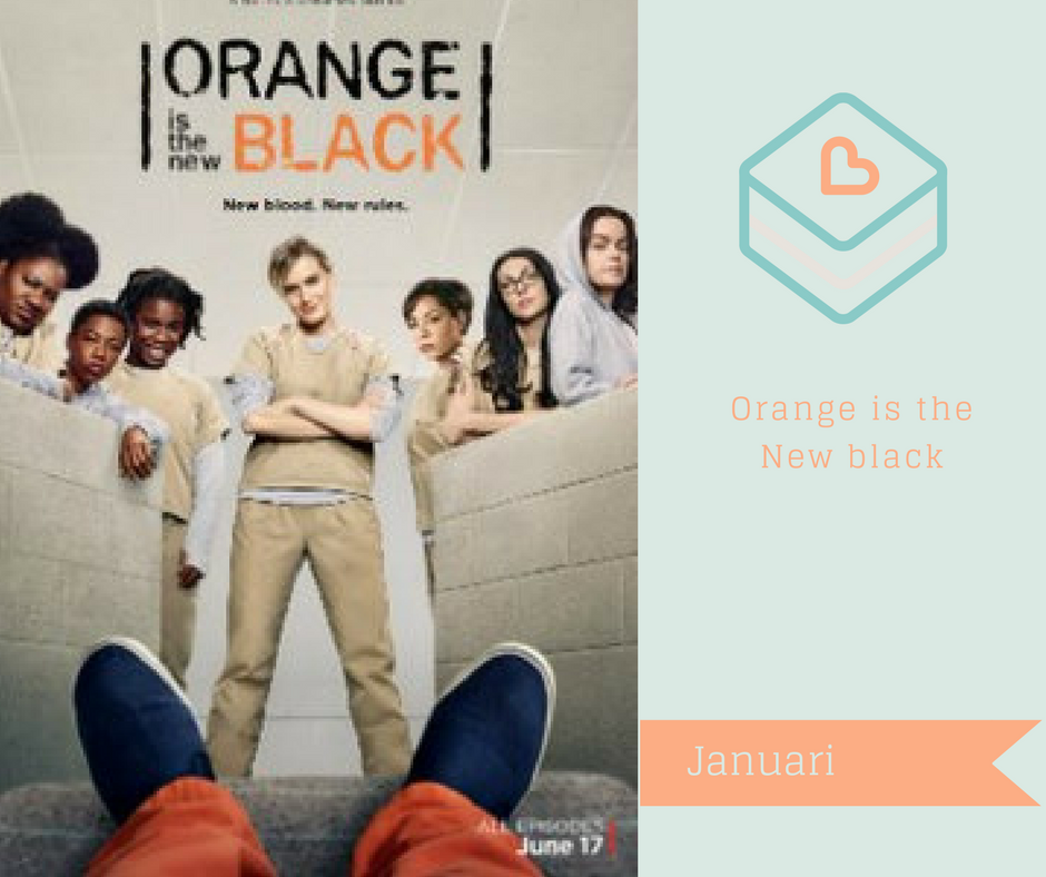 Serier jag vill se på netflix - Orange is the New black