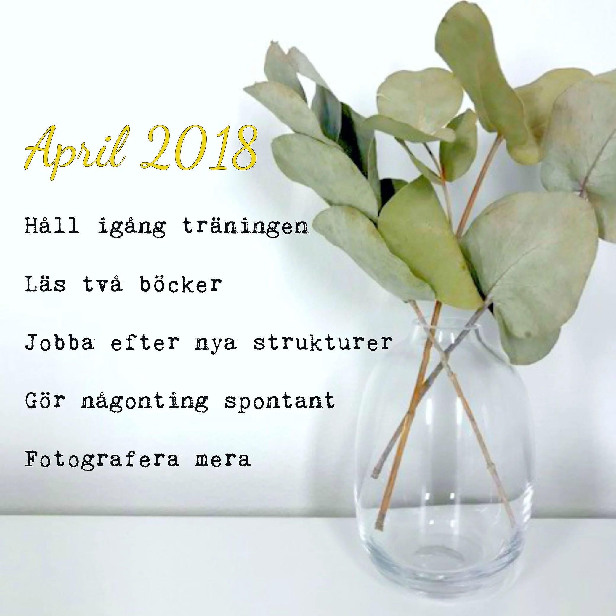 Välkommen, April!