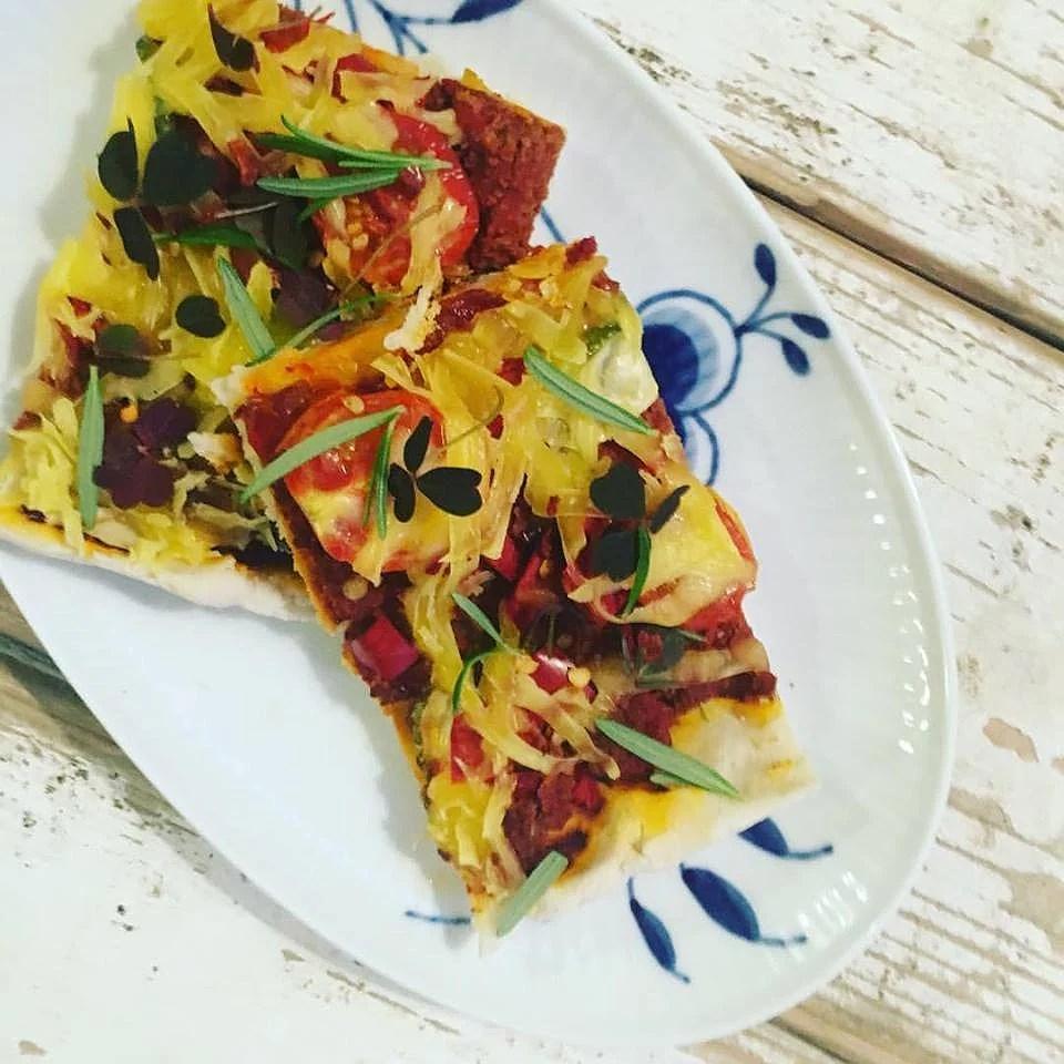 Glutenfri pizzadej