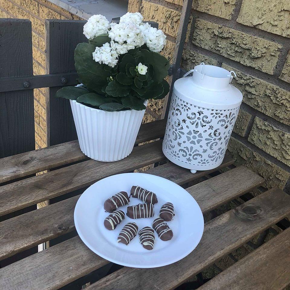 Mjölkchokladtryffel med flingsalt