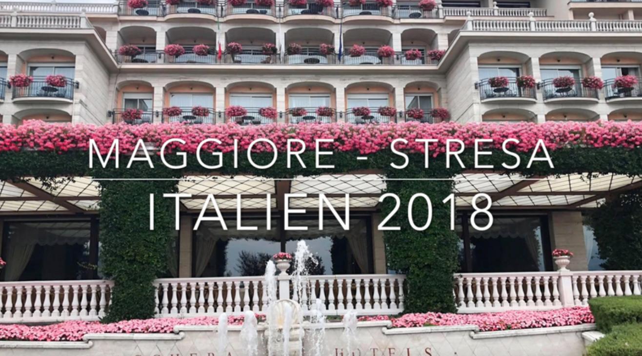 NY VIDEO - MIN TUR TIL MAGGIORE, ITALIEN