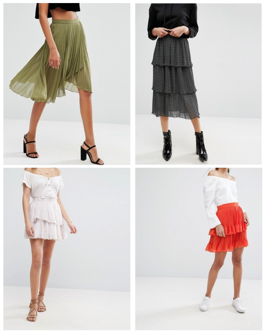 4 Pleated Skirts 4 Spring