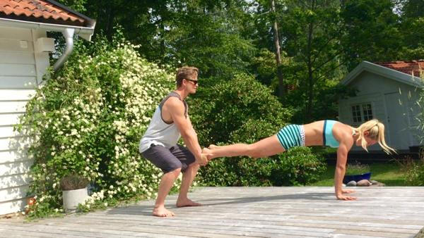 Veckans övning: Enbens-plank-burpee