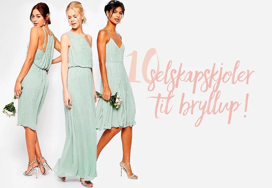 krist.in kjoler til bryllup bryllupsgjest selskapskjoler nelly fine