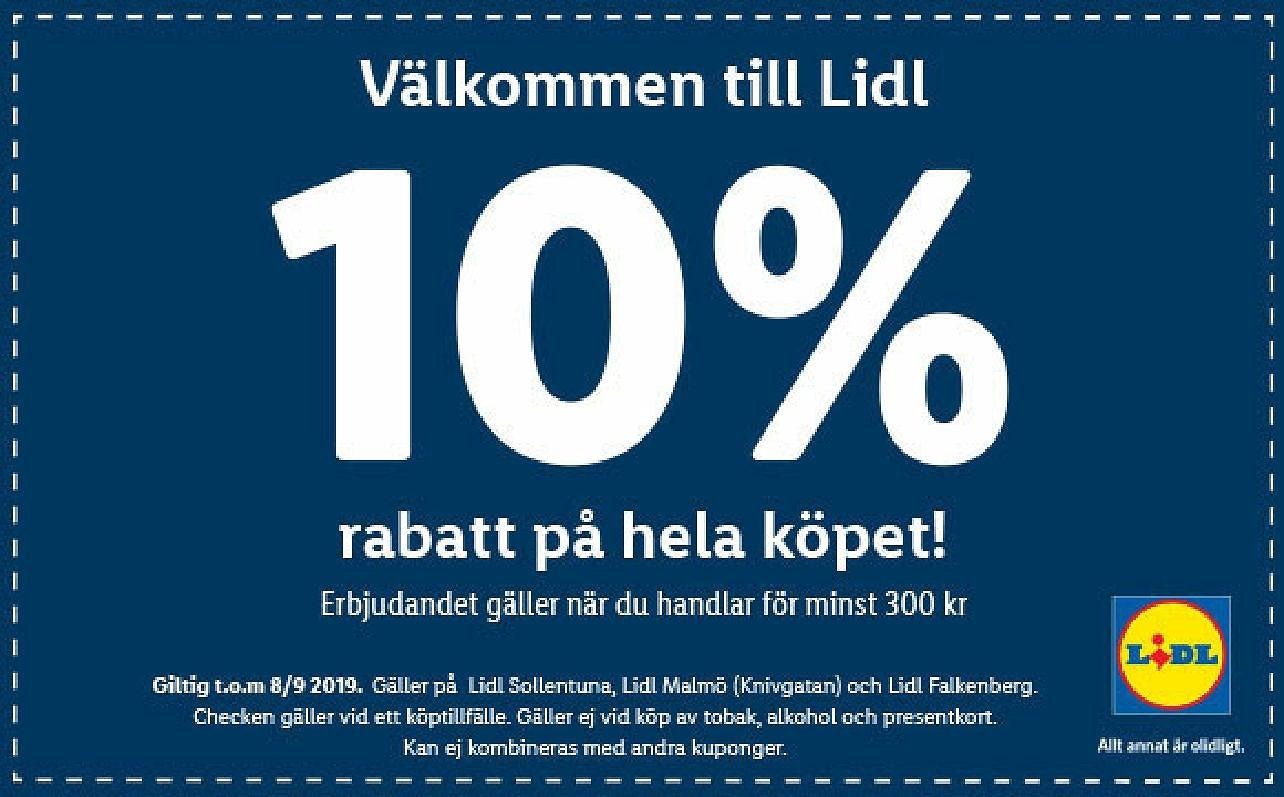 Lidl reklam och annonsblad erbjudanden på mat | Lidl.se