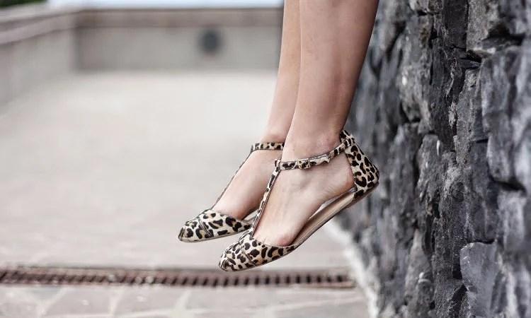 Denim skirt + sandals