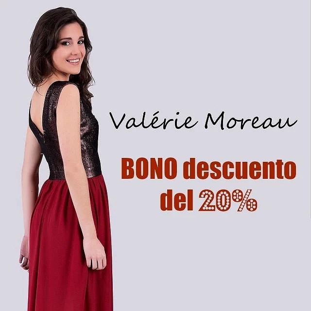 Especial bodas, bautizos y comuniones: Consigue tu bono descuento del 20% en Valerie Moreau