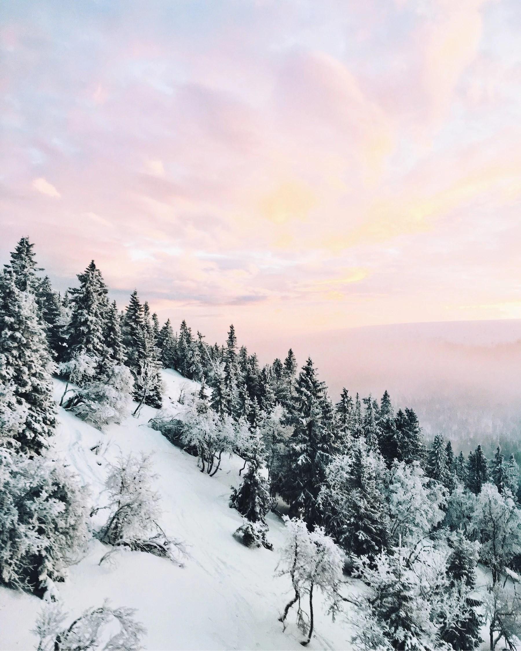 Äntligen skidor igen