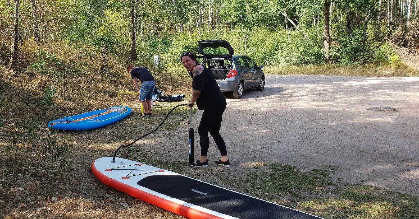 Ut och surfa