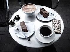 Cafébesøk med roomie fra NYC featured image
