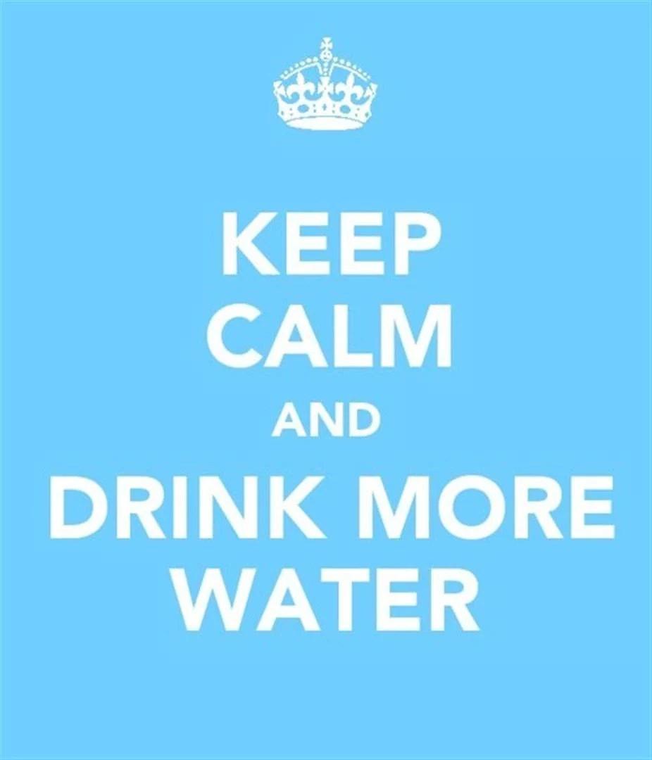 Den omedelbara verkan av vatten