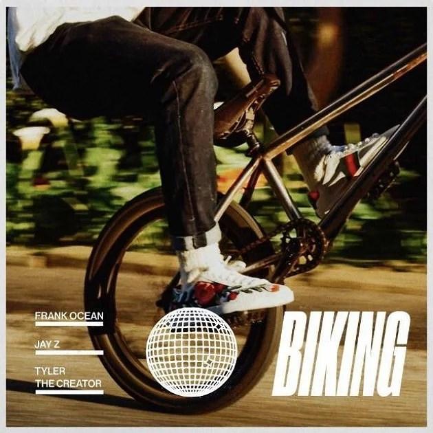 And I'm biking
