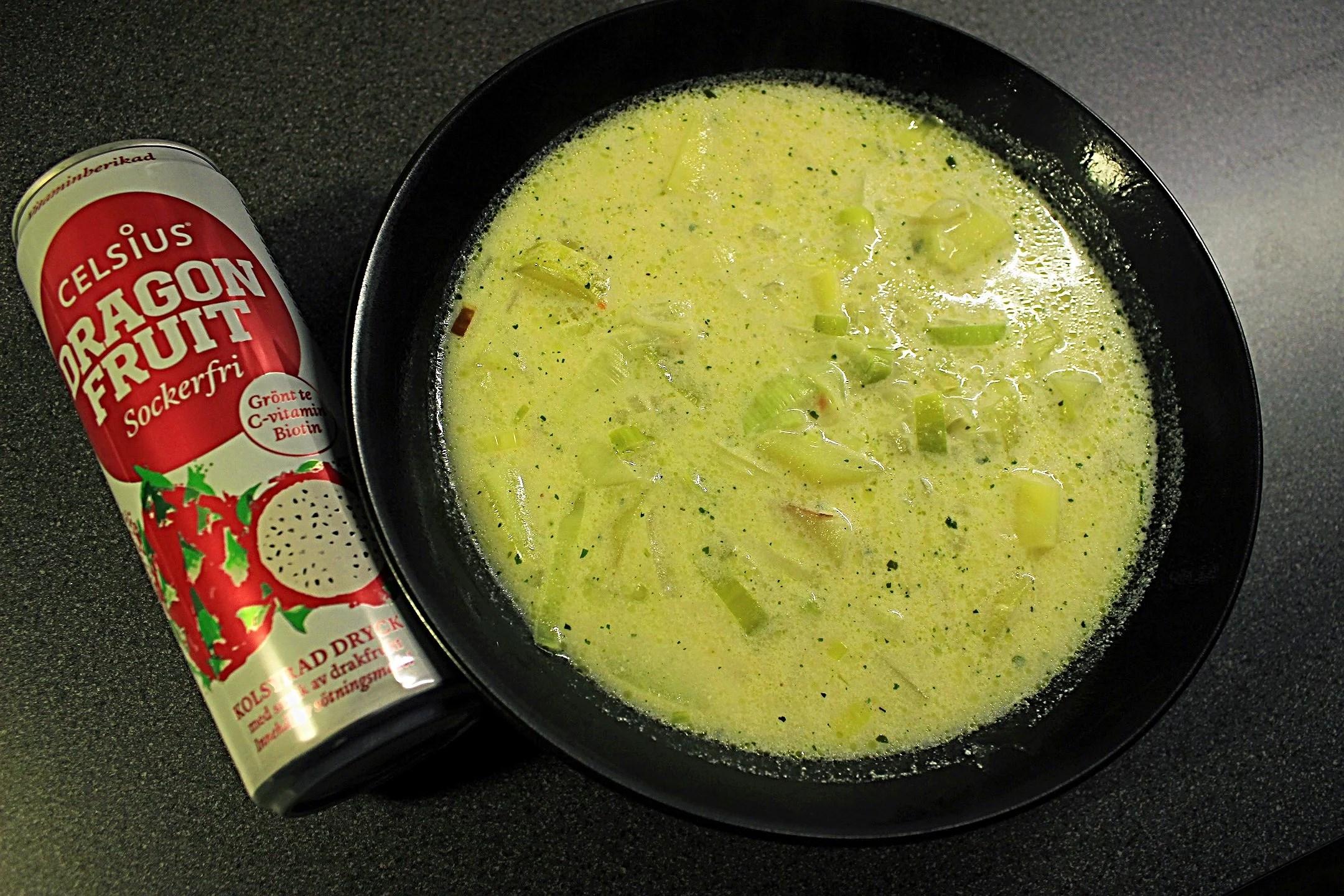 Potatis & Purjolök soppa