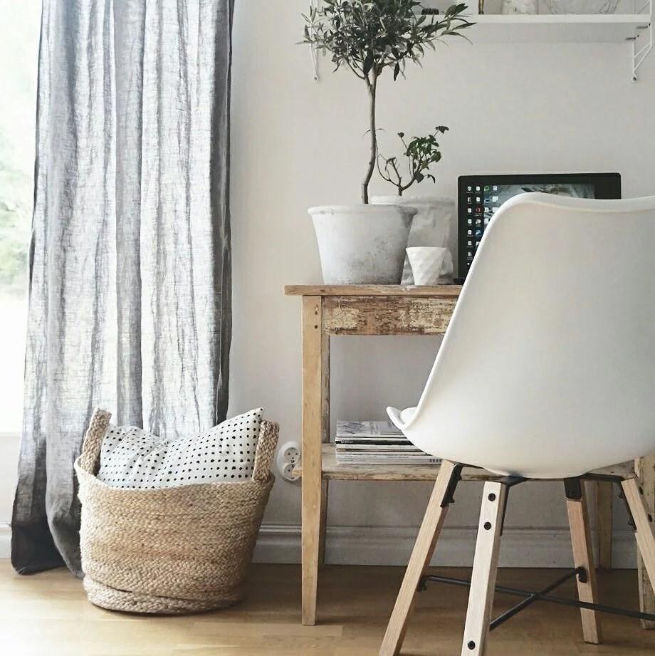 En bit vardagsrum