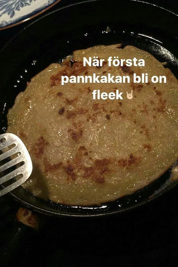 Veganska pannkakor + recept