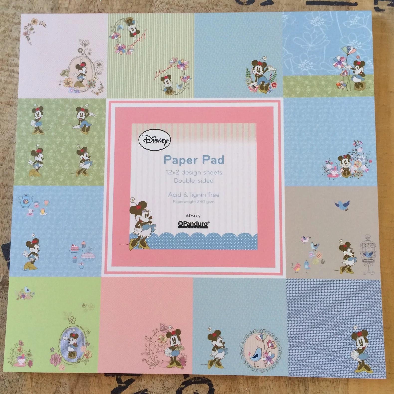 Disney Paper Pads från Panduro