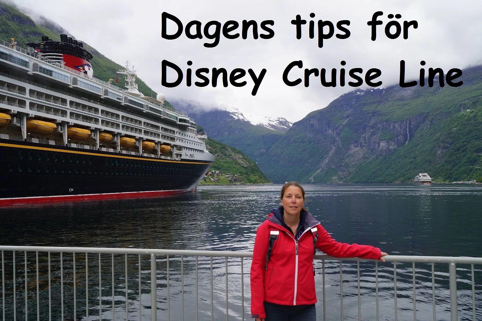 Dagens Tips för Disney Cruise Line: Vilket skepp ska man välja?