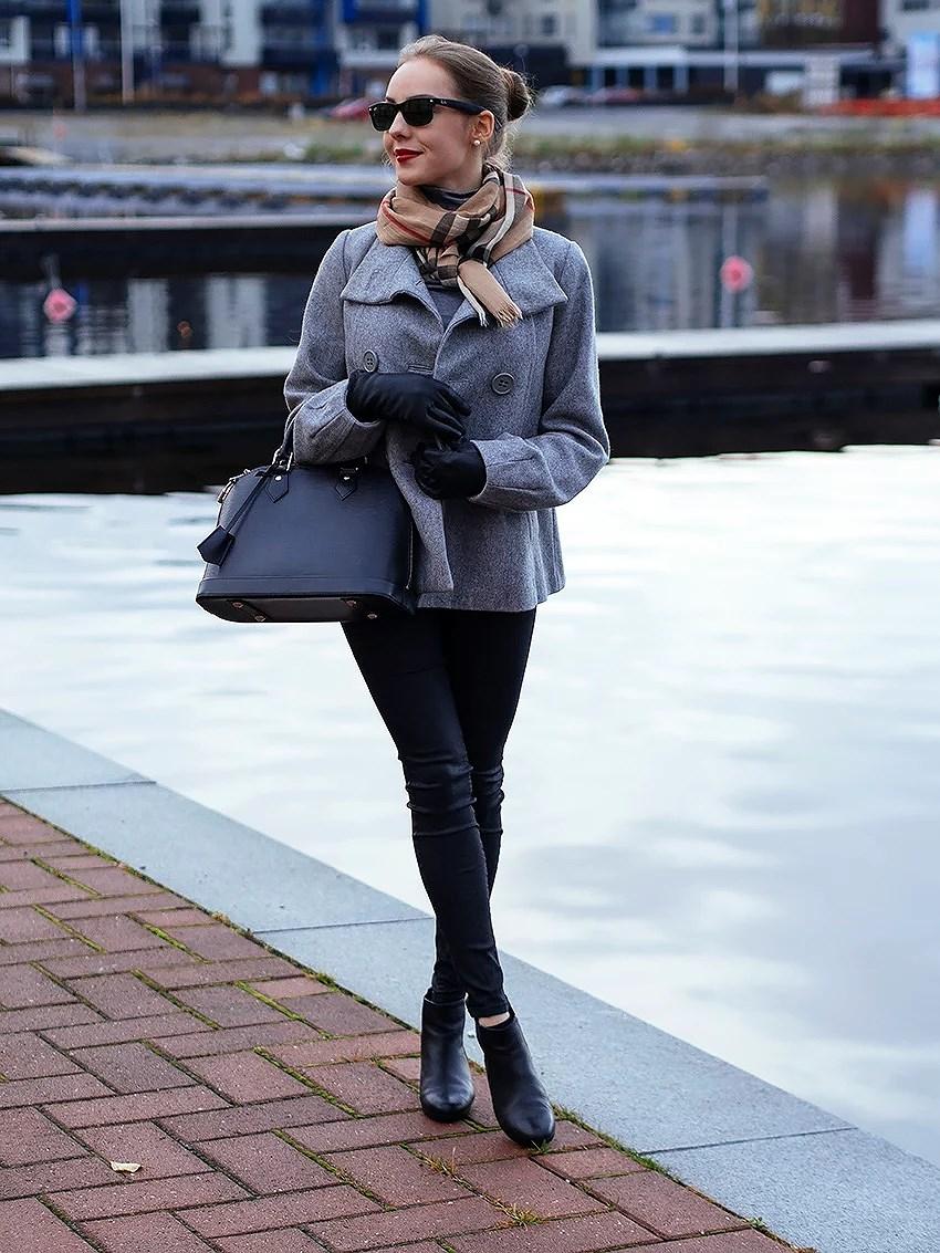 harmaata ja mustaa!