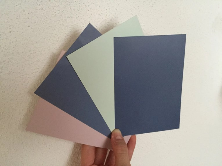 Siljewaldeland blogg: nytt gulv = ny farge på samtlige vegger