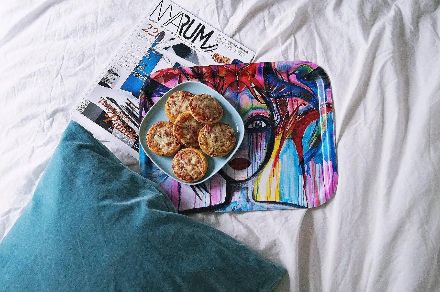 Lunch: minipizza