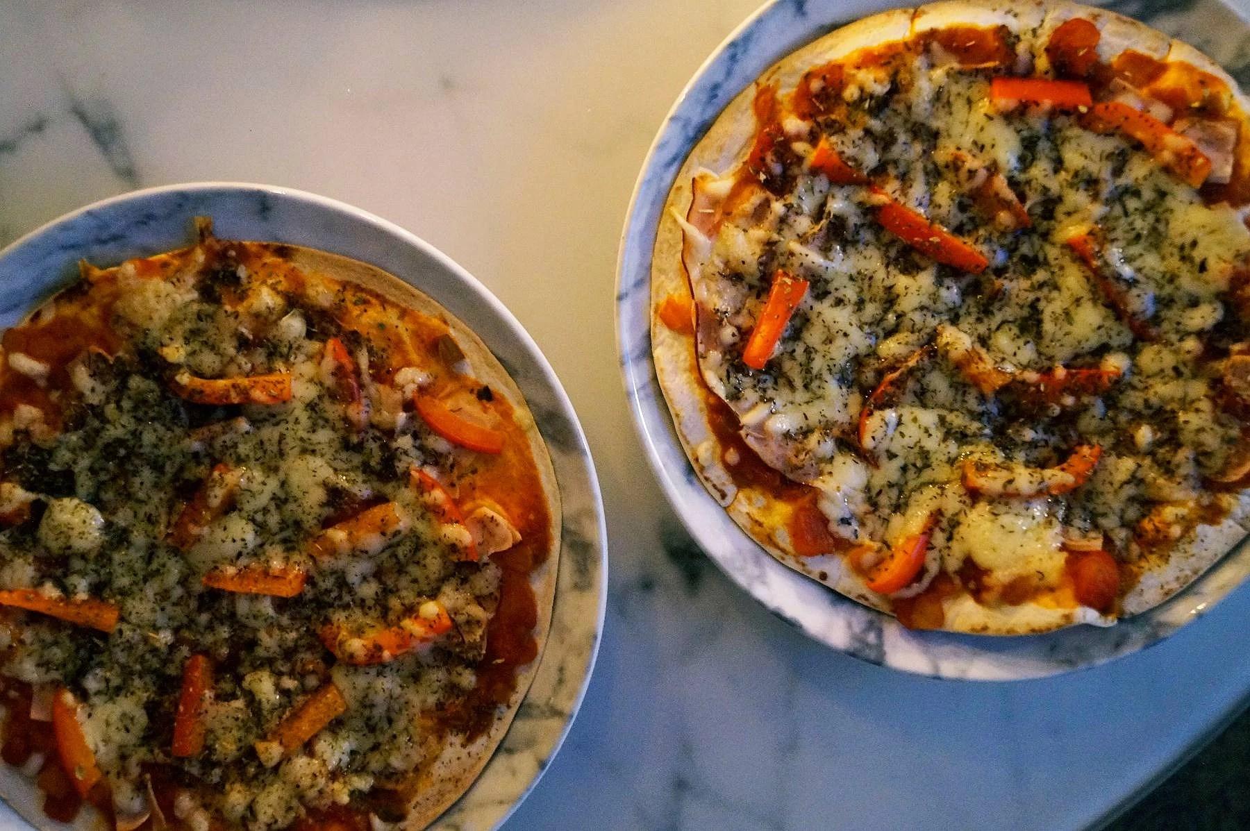 Just nu: Pizza på tacobröd