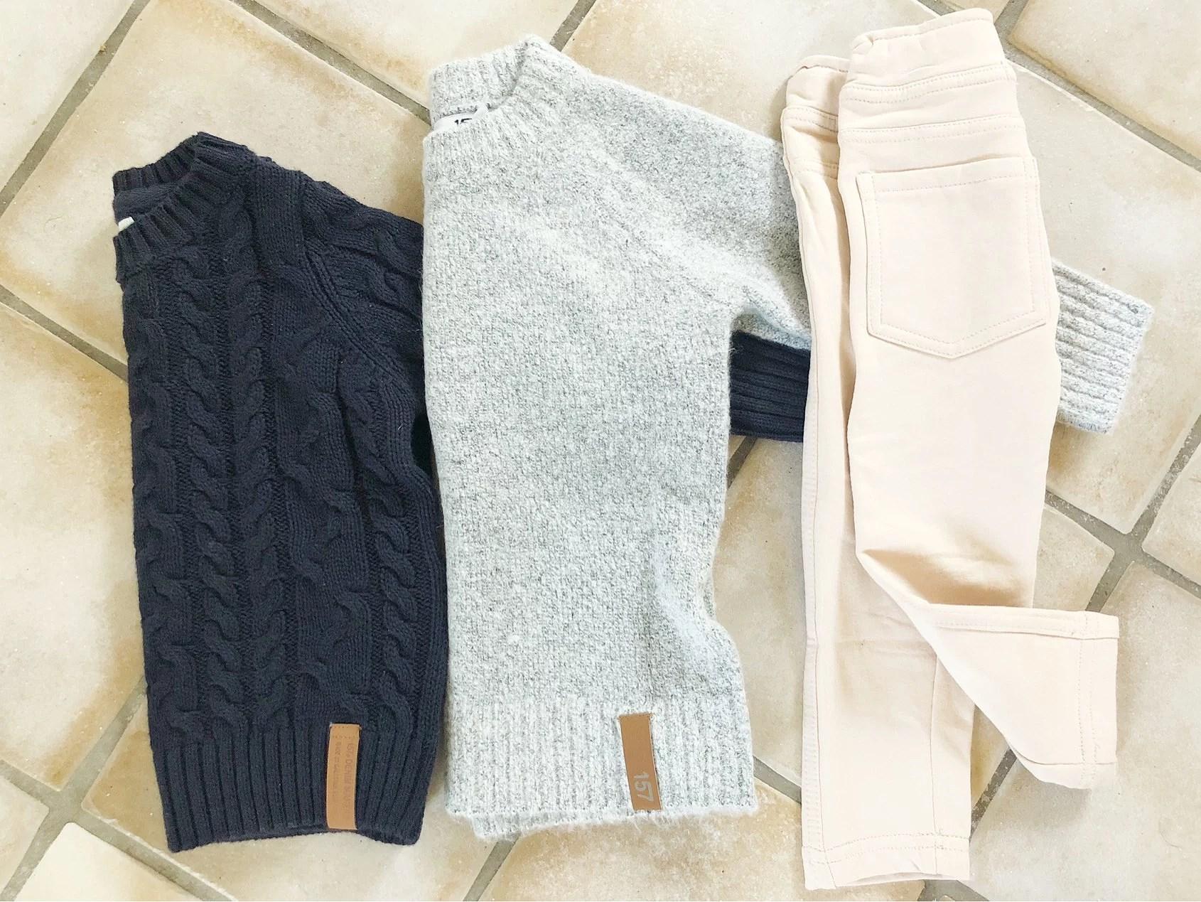 Nya kläder: Milla