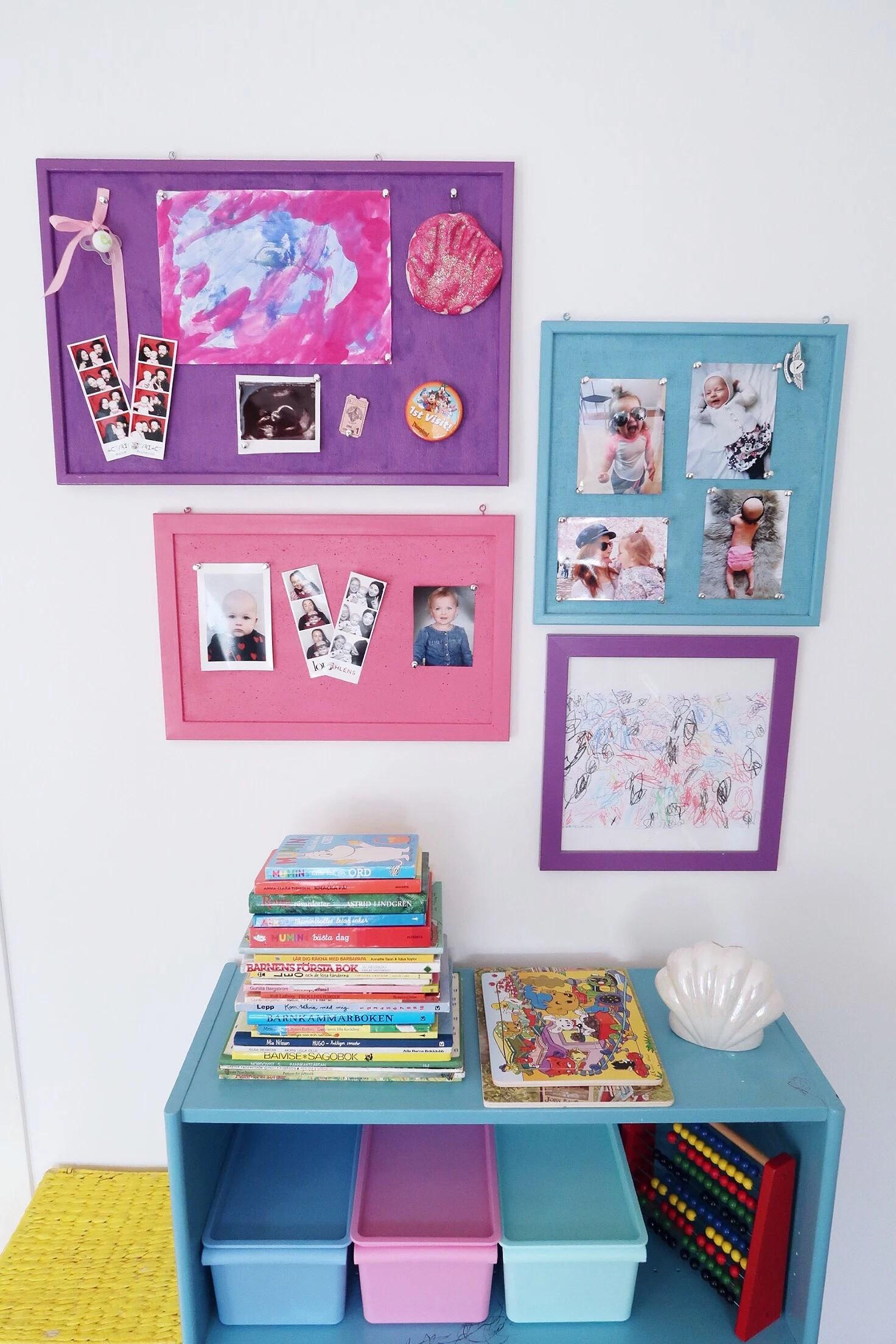 Billigt & färgglatt diy till barnrummet!