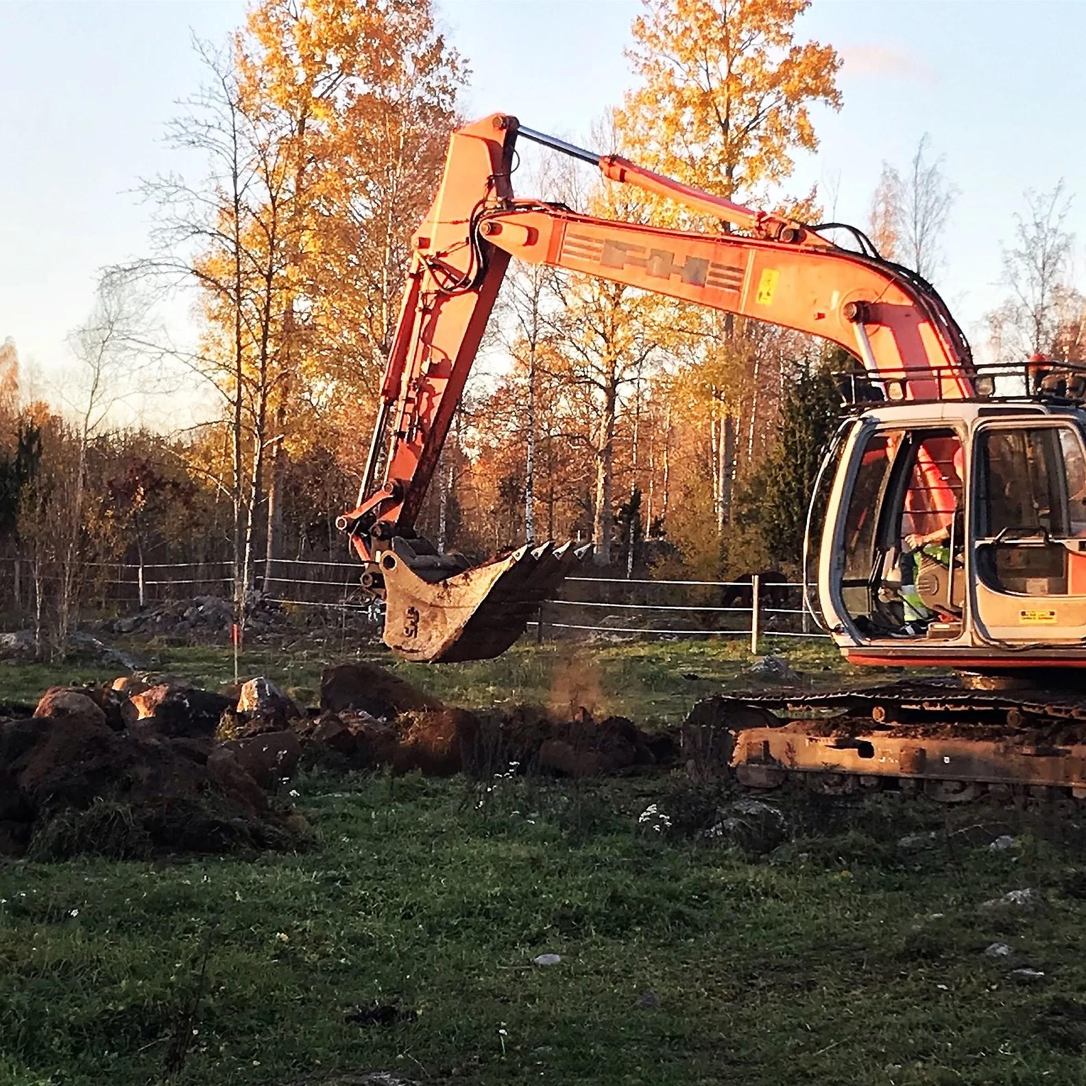 Nu grävs det!