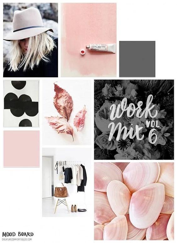 moodboard: blushed pink