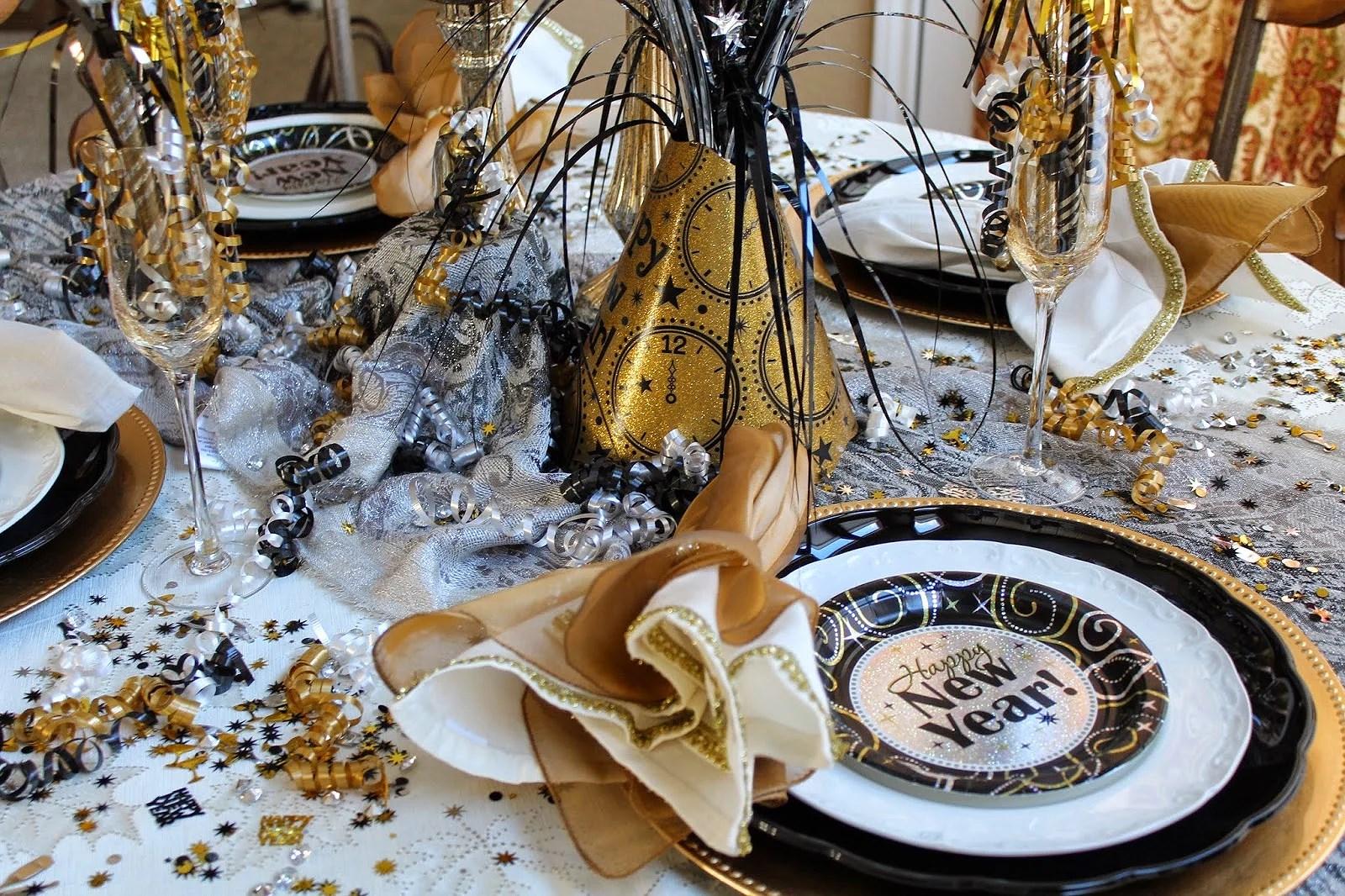 Decor New Years' Eve