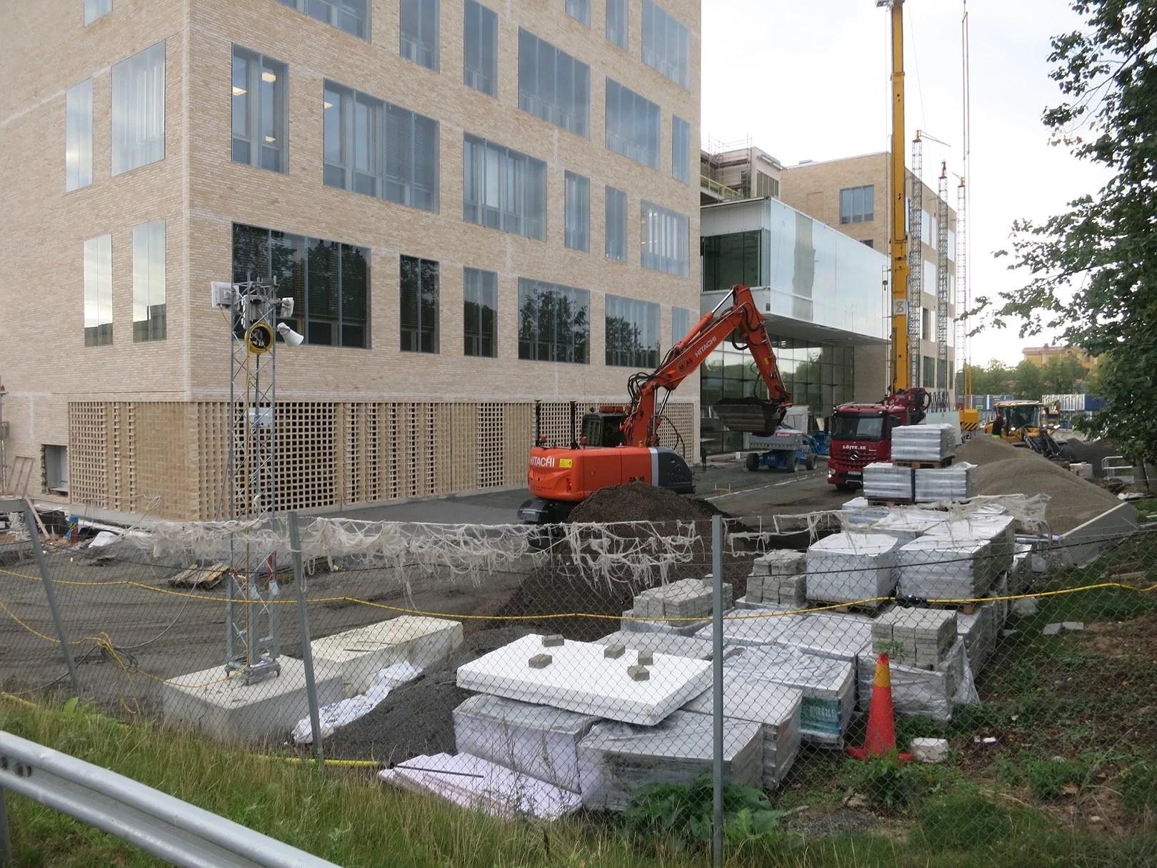 En Byggarbetsplats