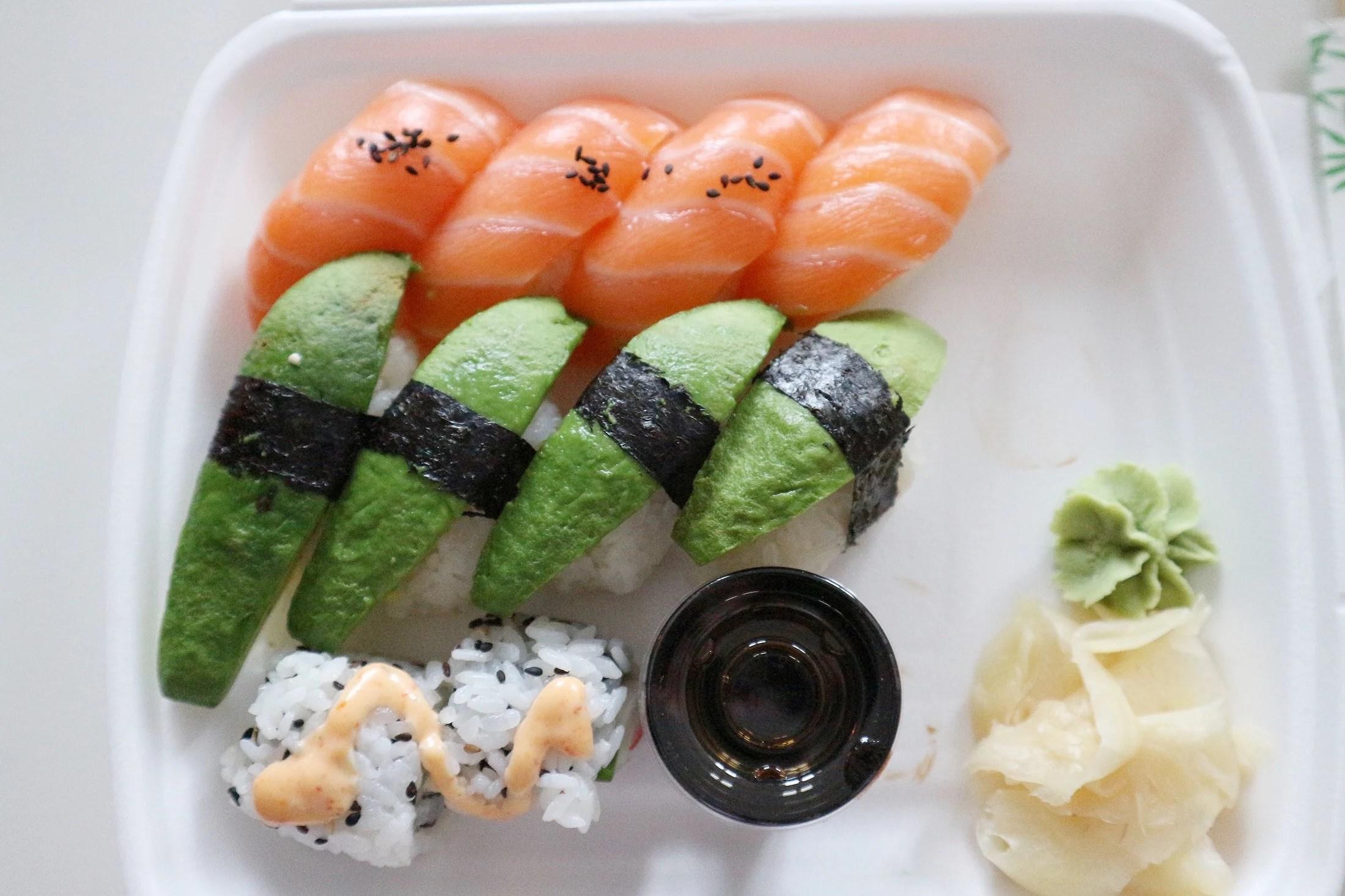 Sushi x2 & högsta växeln