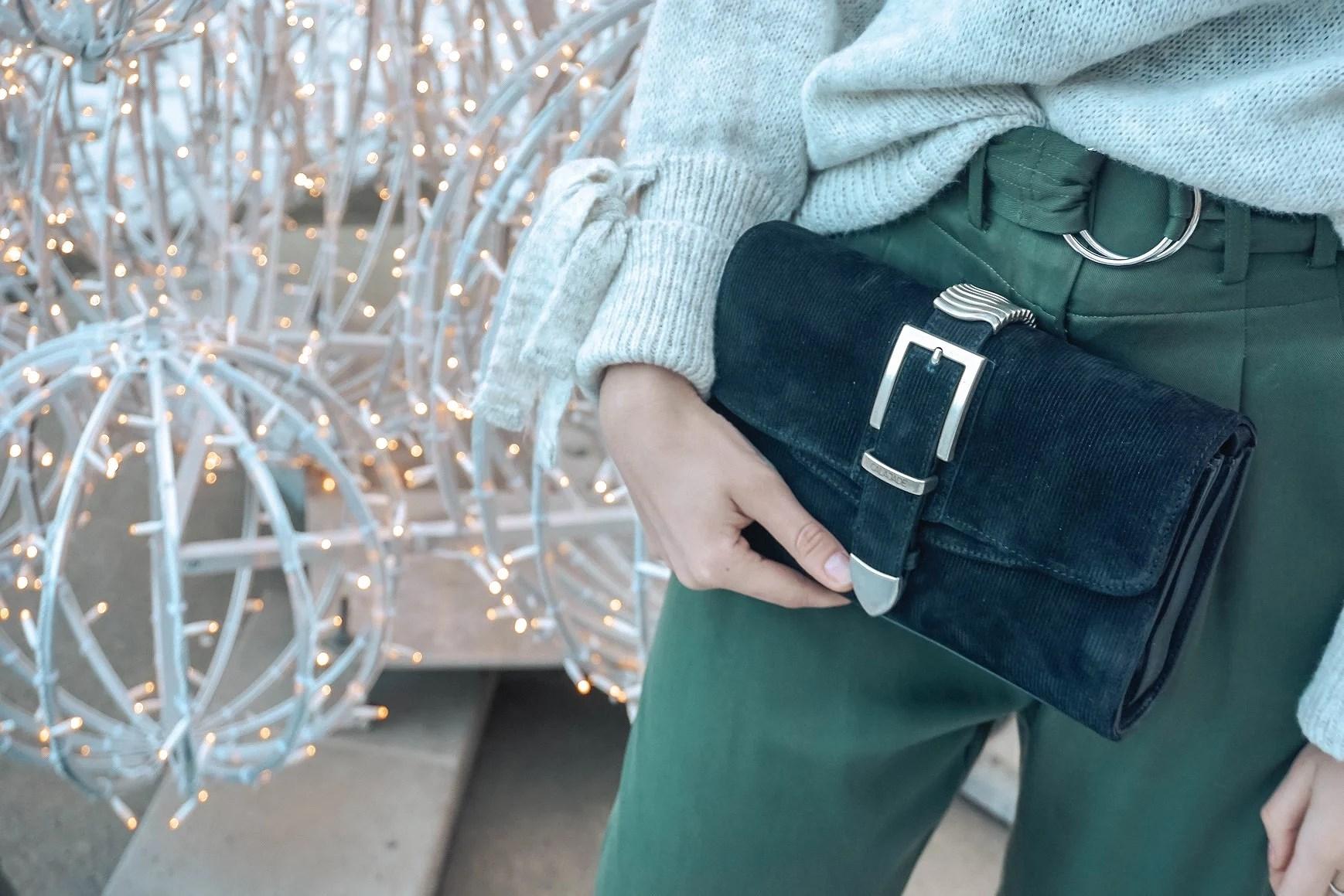 Green pants for Christmas