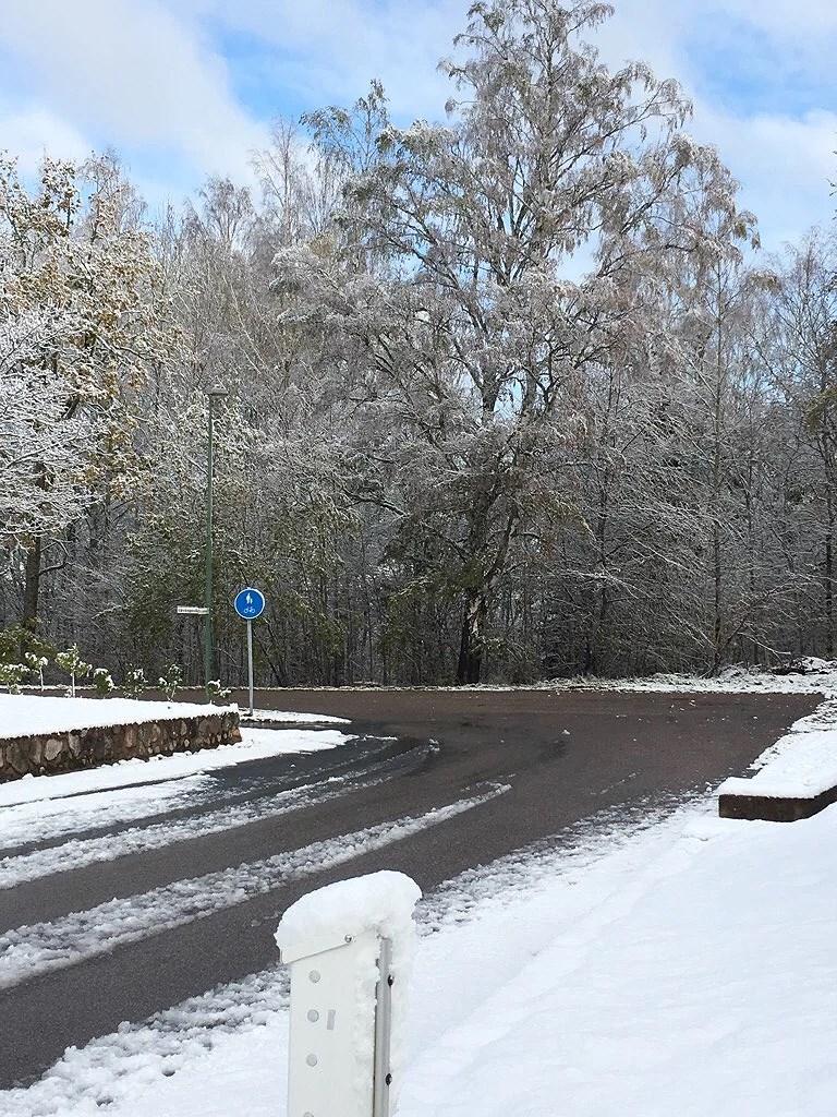 Snö i oktober?