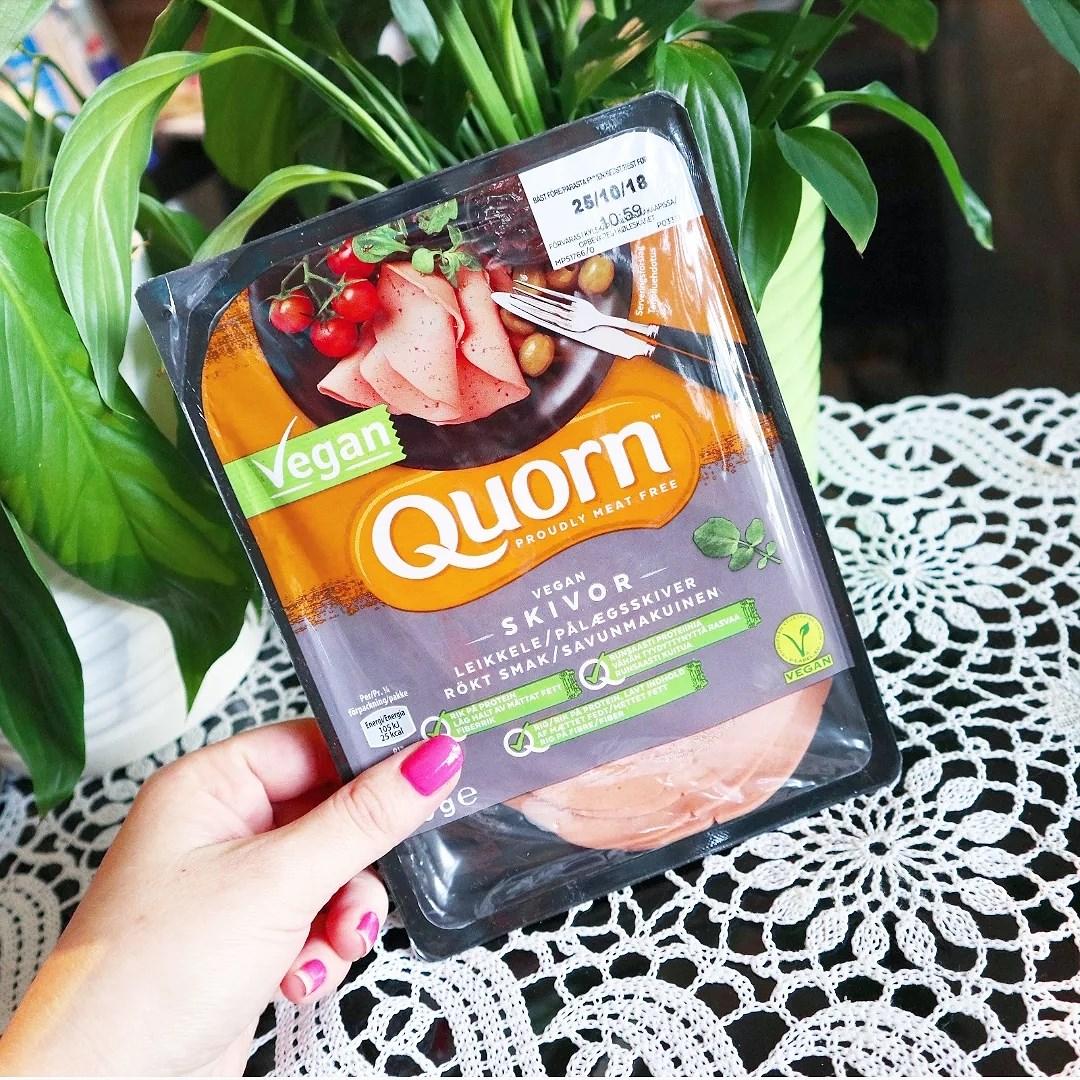 Qourn rökta skivor - vegansk skinka