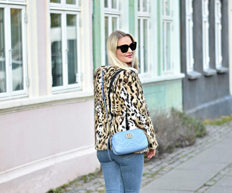Julie von lyck Aarhus Gucci Marmont blue