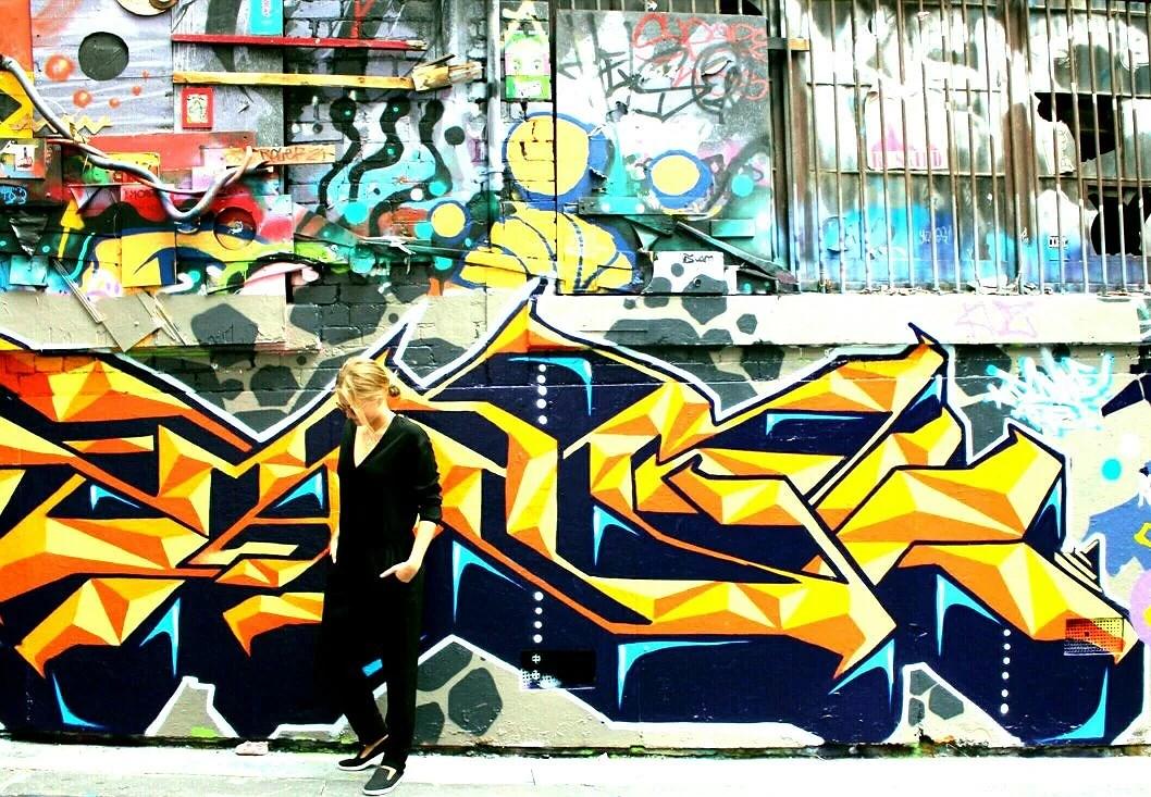 Där graffiti blir till konst #Melbourne
