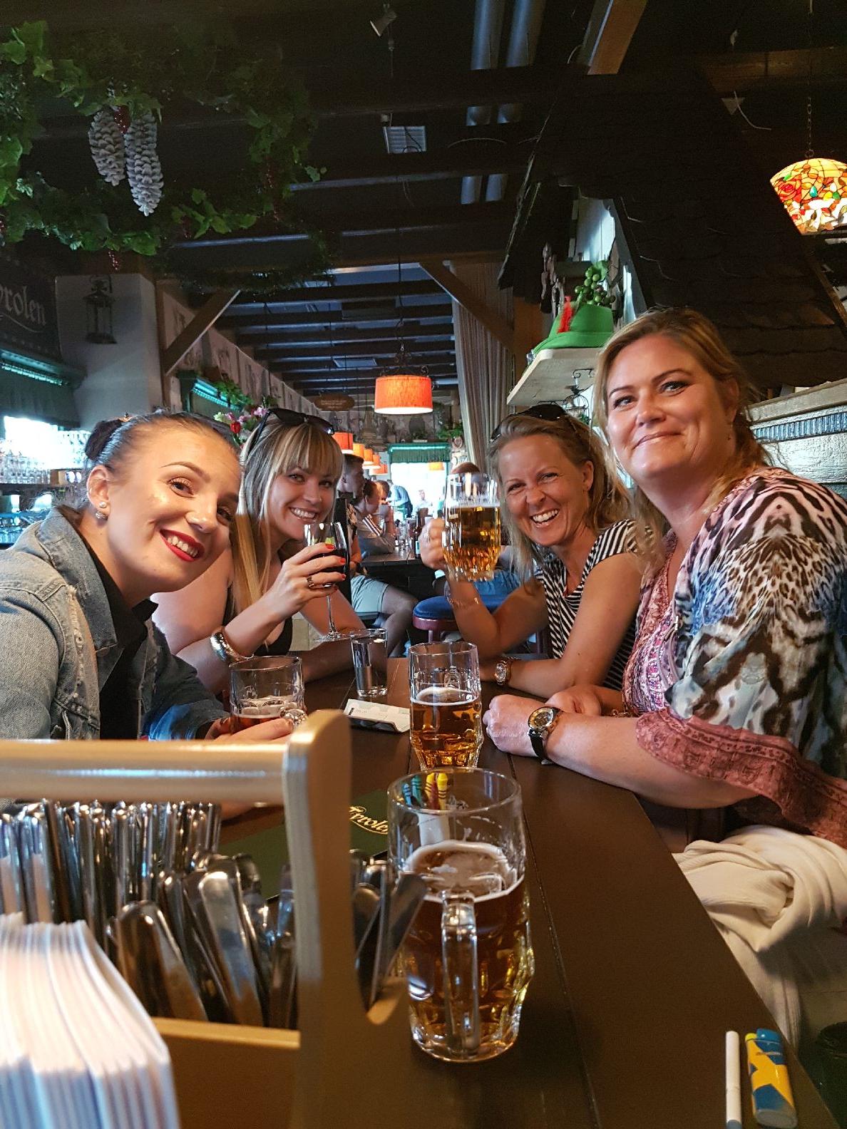 fredag och öl på Liseberg