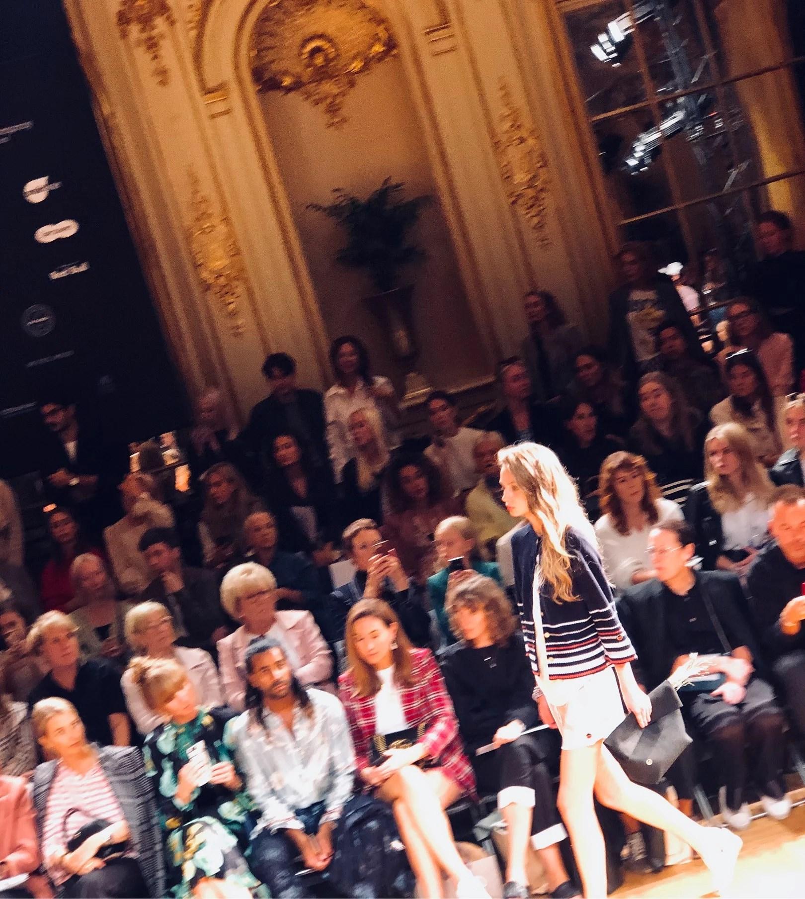 Fashion week Stockholm- Busnels visning