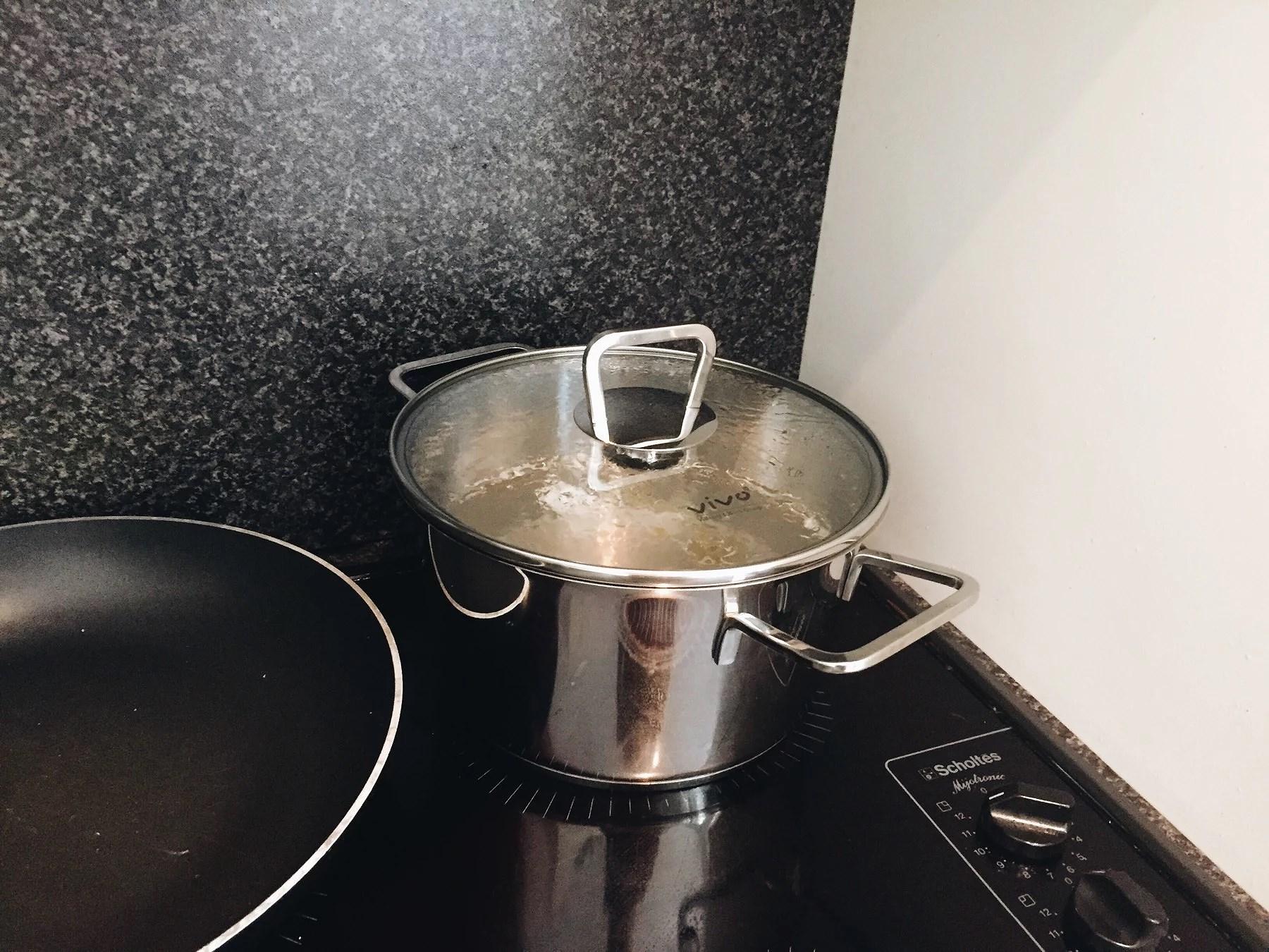 Pasta breakfast
