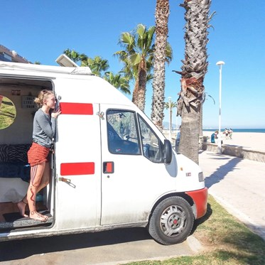 Vanlife Europe Spain onlylifeweknow Peñiscola game of thrones Meereen