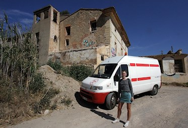Onlylifeweknow vanlife Spain abandoned porcelain doll factory haunted urban exploration