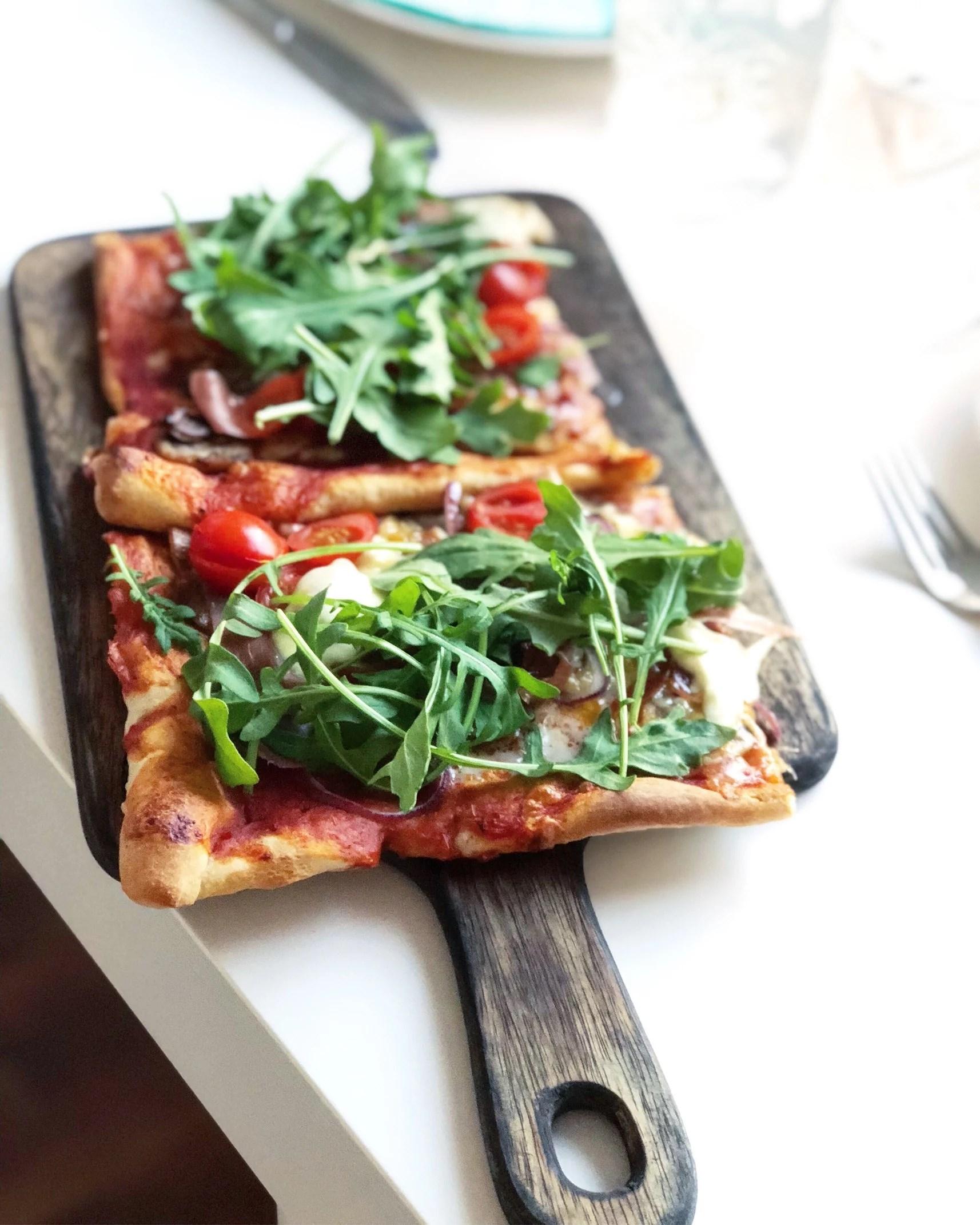 Mysmiddag - hemmagjord pizza!