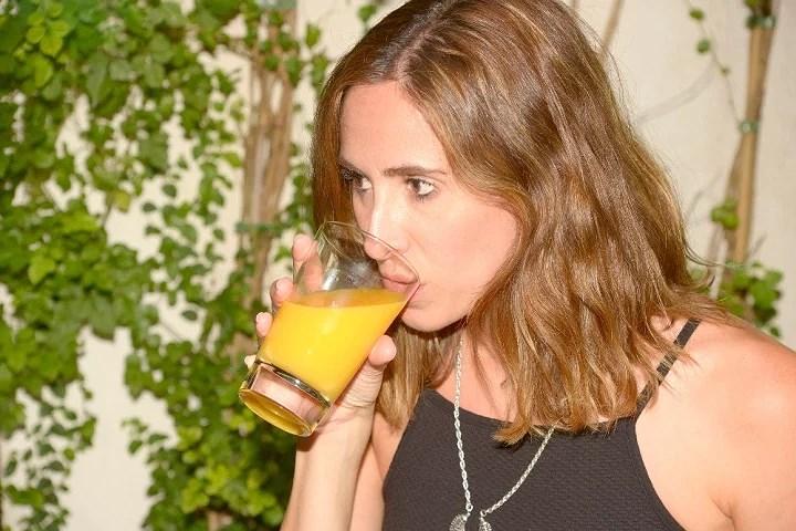 desayuno zumo naranja