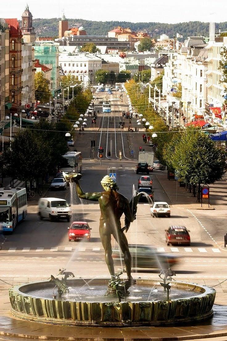 De rede, arco e flecha rumo à Suécia