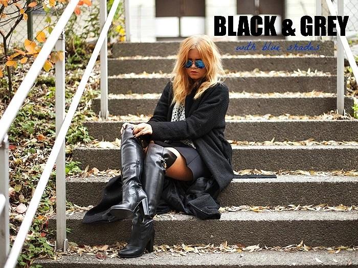 GREY+BLACK