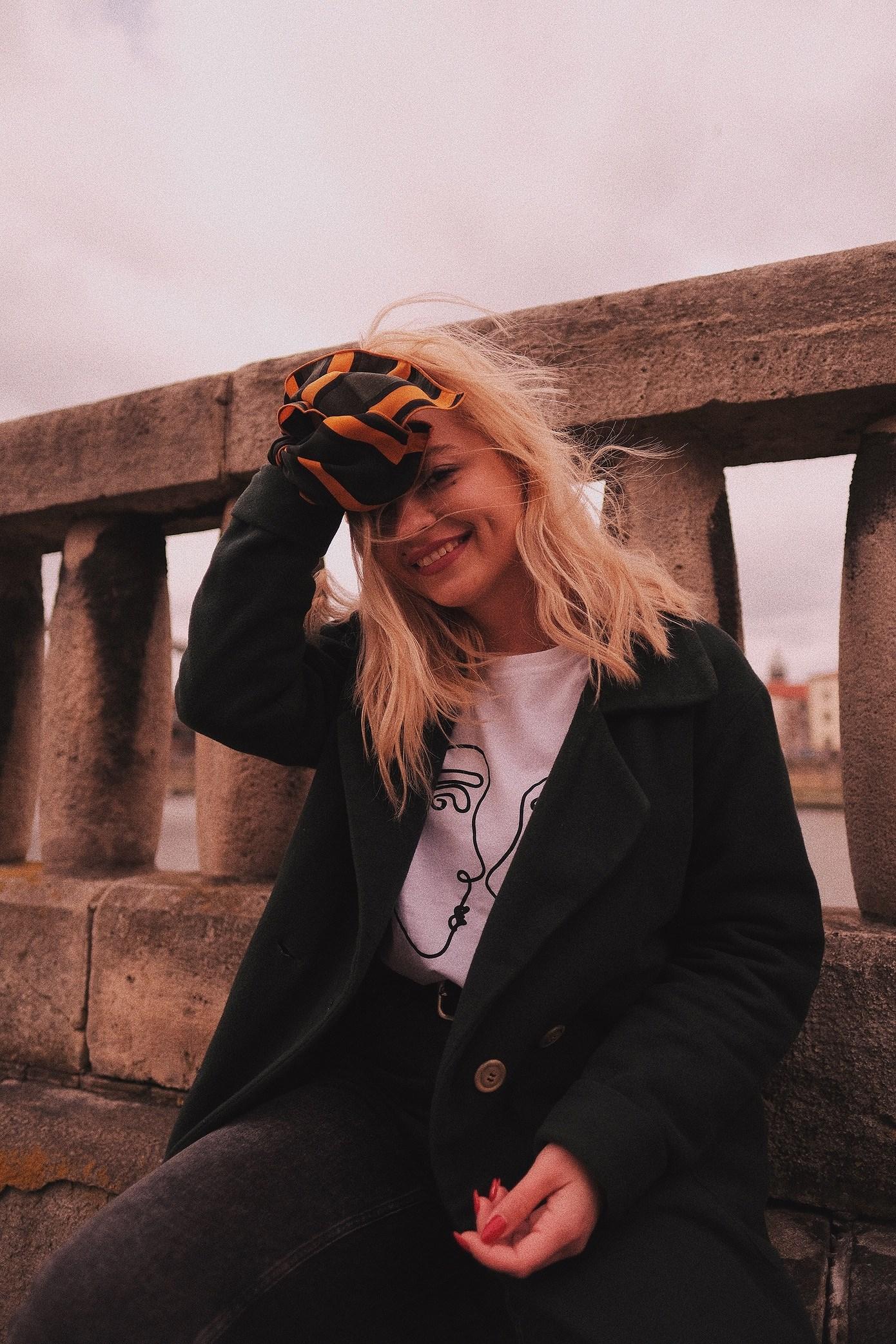 Windy Kraków: Outfit na wiosenne spacery