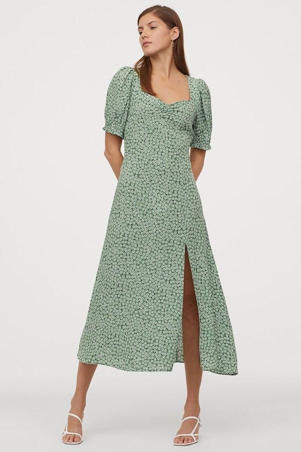 Grön klänning HÄ