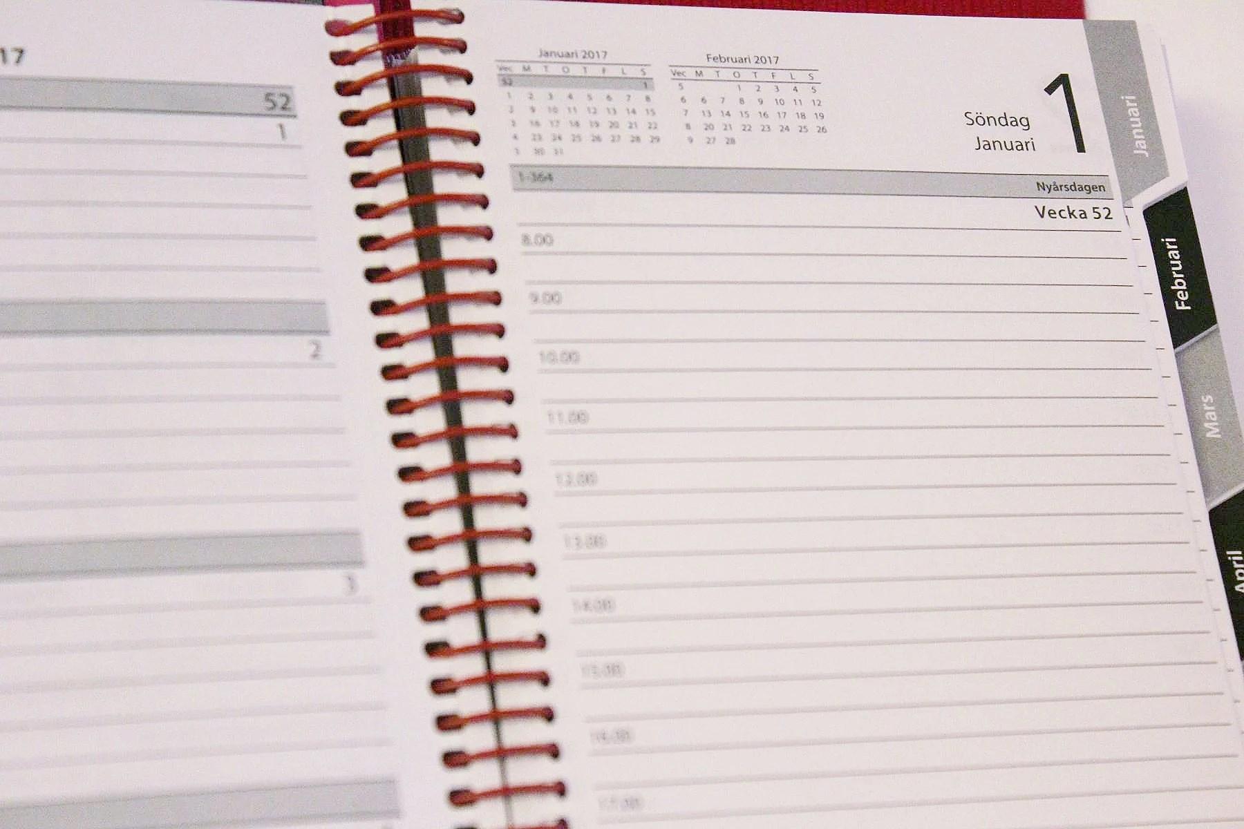 Veckans planer v.1