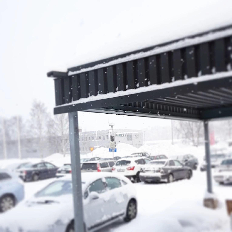 Är det inte SVINKALLT så snöar det...